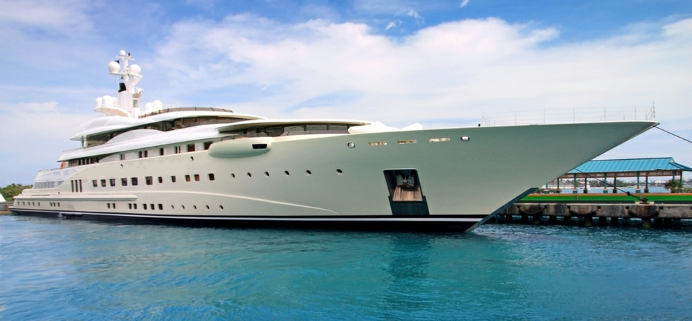 Megayacht Insurance caption image
